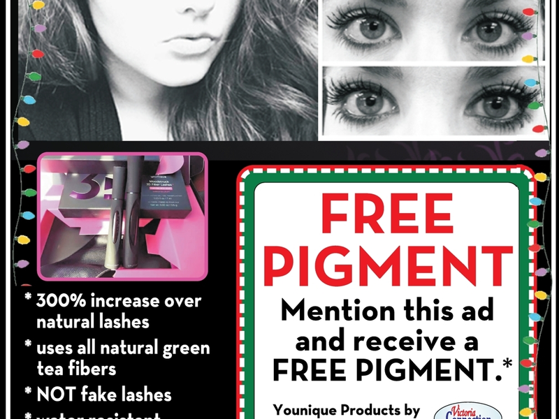 3d Fiber Lashes Mention This Coupon And Receive Free Pigment From