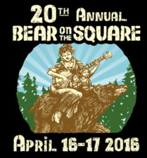 20th Annual Bear on the Square Mountain Festival - start Apr 16 2016 1200AM