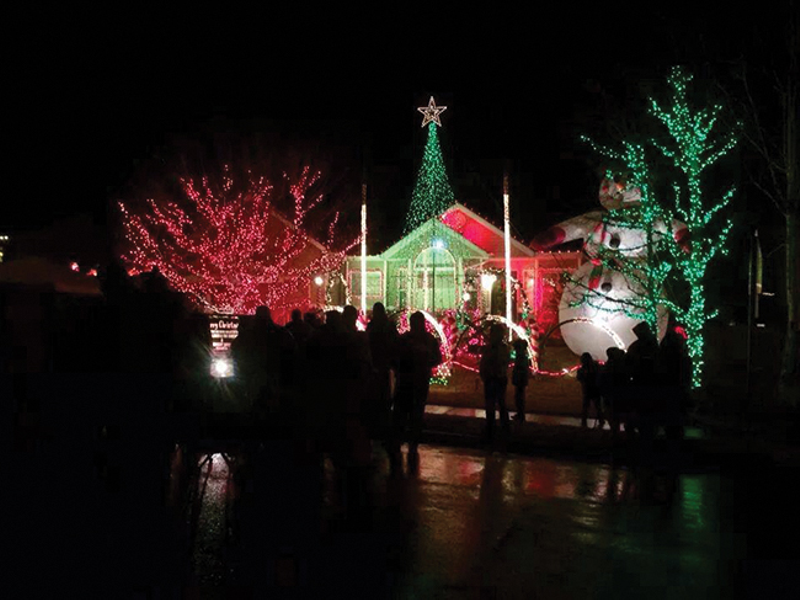 Lights on Wakefield Delight and Profit Local Charities | West Jordan ...