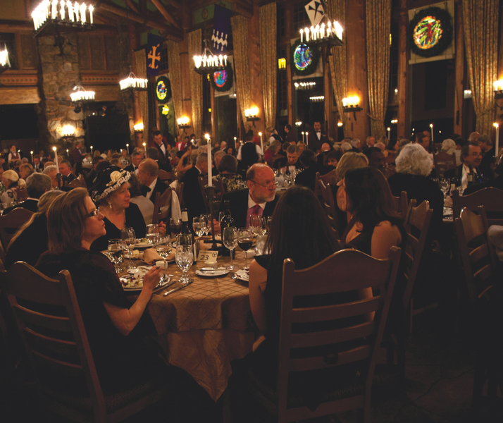 The Bracebridge Dinner At The Ahwahnee A Christmas: A Holiday Tradition Unlike Any Other: Bracebridge Dinner