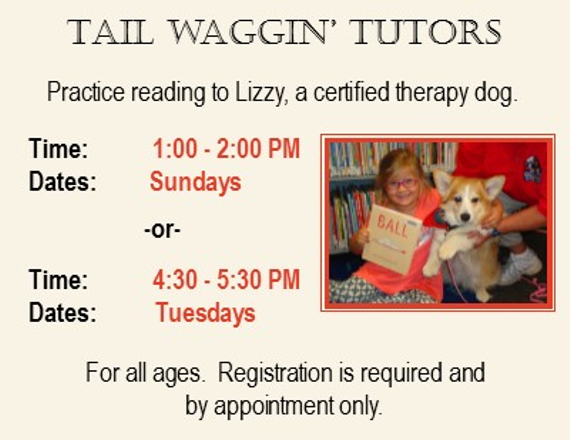 Tail 20waggin  20tutors 20read 20to 20lizzy 20winter 2015 20spring 2016
