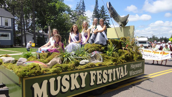 Musky festival 20wisconsin 20parent 20travel