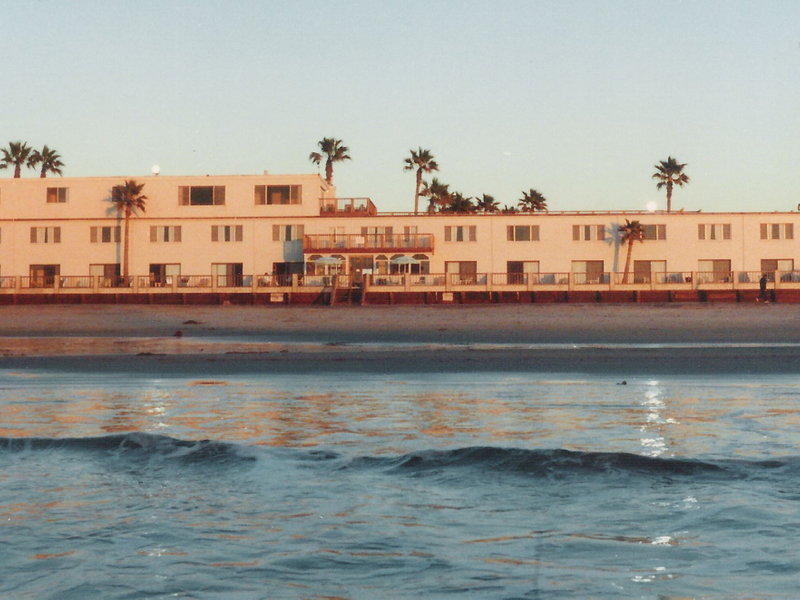 David Smith S Pictorial Of The Old Seacoast Inn In Imperial Beach To New Pier South Resort