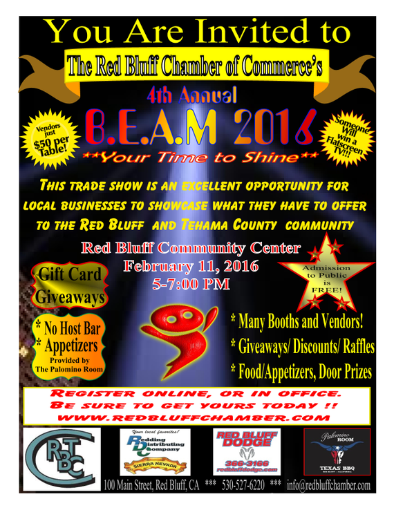 Red Bluff Dodge >> Business Expo Red Bluff Chamber