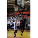 Osseo's Kiara Russell scores two of her 22 points against Maple Grove