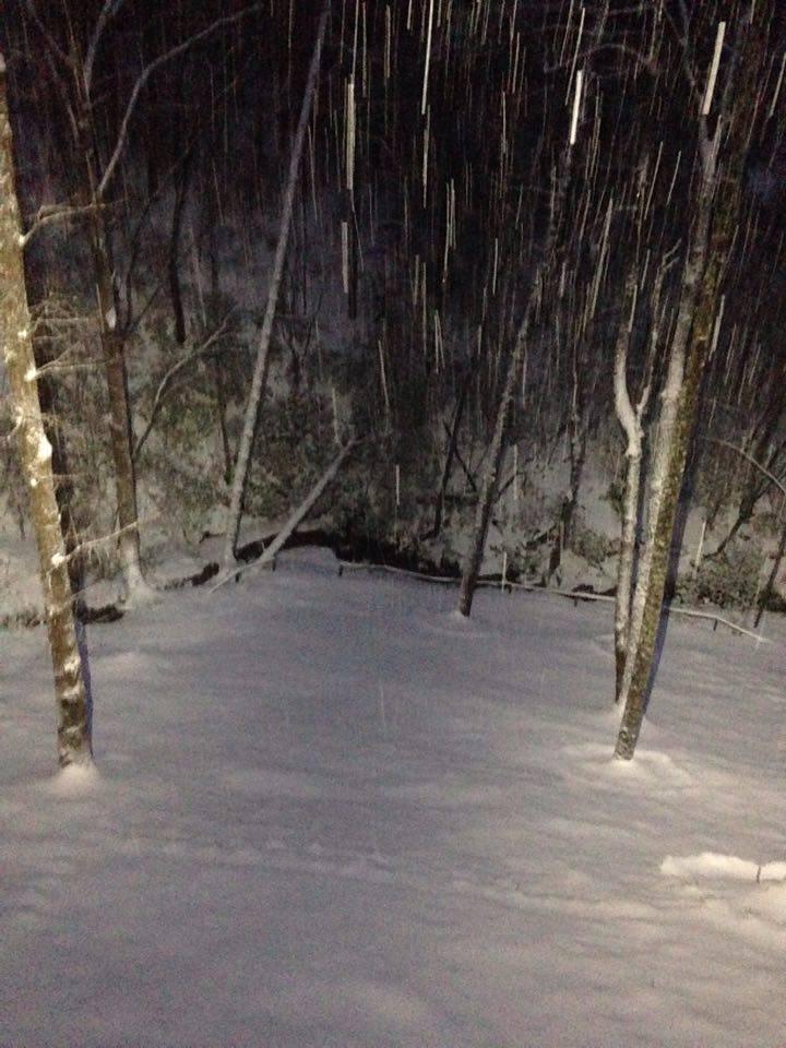 Snow Around Rabun Makes For Beautiful Adventures Georgia