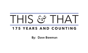 This  That - 175 Years and Counting - Jan 27 2016 0457PM
