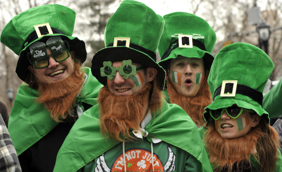 「saint patrick's day ireland」の画像検索結果