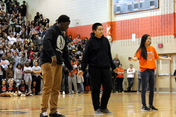 Breakazoids at Osseo Senior High Sno-Daze Pepfest 2016