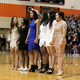Royalty crowning at the Osseo Senior High Sno-Daze Pepfest 2016