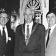 Left - Right Jack Fox with WHAS Radio Lousiville, The Lord Mayor of Dublin and Skip in 1992. Skip was awarded the gold Shamrock Award by the city of Dublin and made an honorary citizen of Dublin for promoting tourism to Ireland.