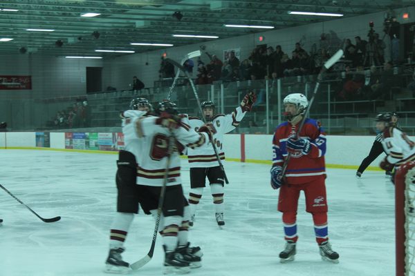 Maple Grove Girls Hockey v. Spring Lake Park-Coon Rapids 2016 section semifinal