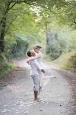 This engagement photo was captured by Valerie Shelton Photography