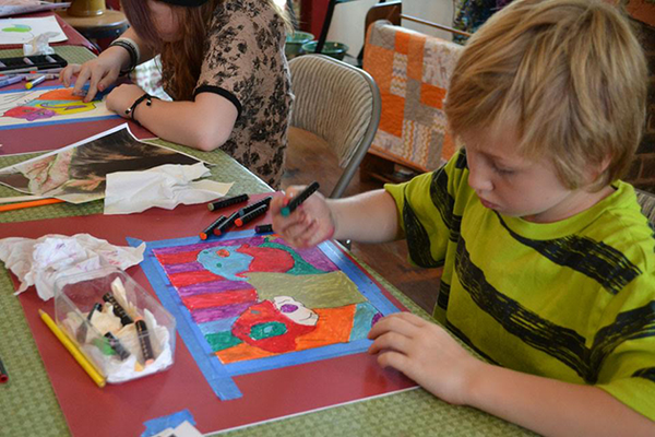 Paint your pet at Bottlebrush Gallery