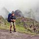 Steve on a hike above the famed Machu Pichu ruins.