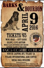 Barks and Bourbon - start Apr 09 2016 0530PM
