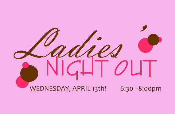 Ladies 20night 20out 20april