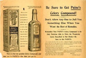Patent Medicine Advertising from The Vermont Historical Society Gallery Extra - 03092016 0533PM