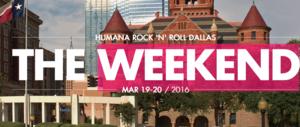 Rock n Roll Dallas Half Marathon and Fitness Expo  - start Mar 19 2016 1200PM