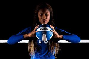 Mansfield Summit Volleyball Star Spikes Records and Heads for Stephen F Austin - Mar 21 2016 0103PM