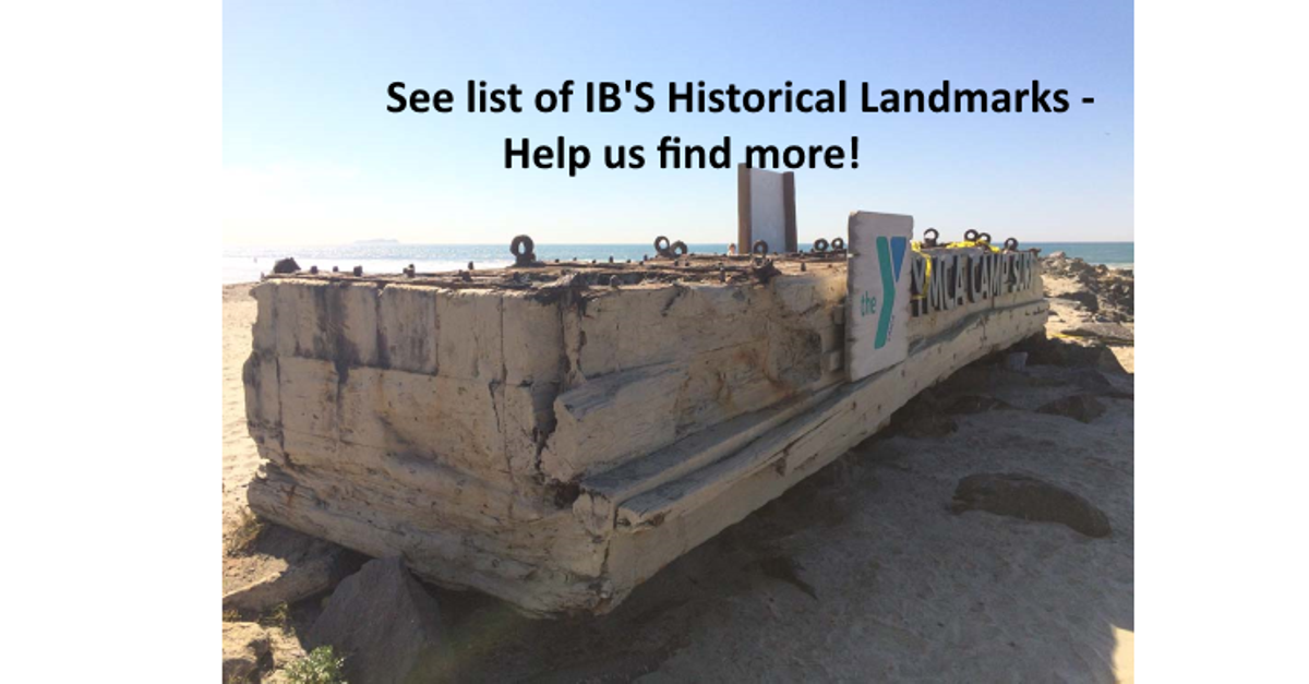 See what is on Historical Societys List for Historical Imperial Beach Buildings and Landmarks   Dig Imperial Beach