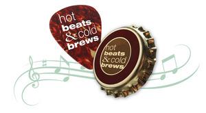Medium hot beats logo