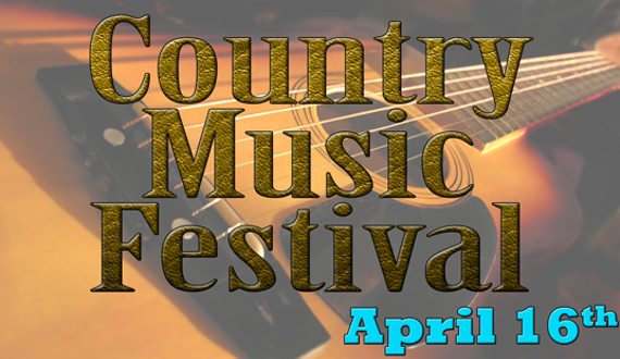 April 16 country music festival