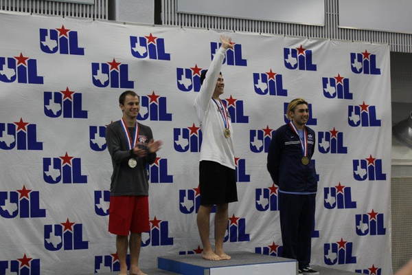 Nate Hernandez. Photo courtesy of Carroll Diving Coach Carolyn Hryorchuk.