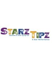 Medium 1.air water syringe tips starz tipz logo