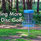 Funding Another World-Class Disc Golf Course - May 09 2016 0300PM