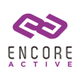 Encore active logo vertical