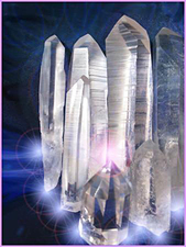 Medium energy healing and crystals