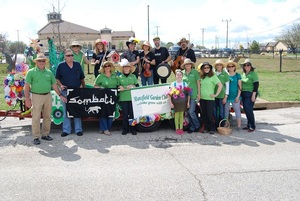 The Mansfield Garden Club at the Pickle Parade