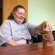 Clay pot making with aphasia patients
