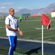 Ahmed Bakrim, Bingham soccer coach, directs the varsity soccer team during its game against Taylorsville High School. – Tori La Rue