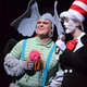 """Forrest Lorrigan (Horton) and Matthew Maag (Cat in the Hat) perform in """"Seussical Jr."""""""