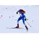 Geneva Humbert competes in a cross country skiing race in Bozeman, Mont. Humbert is a former state champion in gymnastics as well. – Chris Humbert