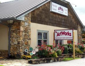 ArtWorks Artisan Center - Hiawassee GA