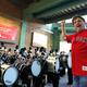 Keith Lockhart rehearses the BHS band.