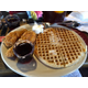 "The ""Toy-Toy"" - 2 chicken wings and a waffle for smaller appetites at Lo-Lo's Chicken and Waffles Southlake"