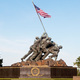 American Flag raised by Marines at Iwo Jima Memorial