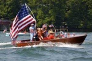 34th Annual Wooden Boat Parade on Lake Rabun - start Jul 03 2016 1030AM