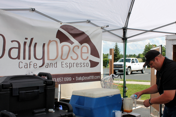 Daily Dose of Maple Grove at the Maple Grove Farmers Market June 30, 2016.