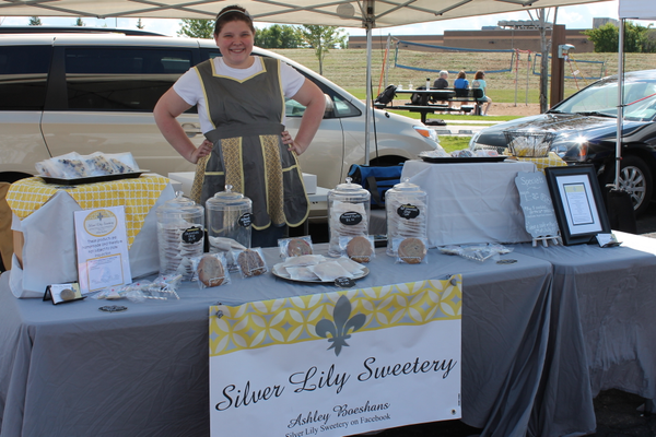 Silver Lily Sweetery of Brooklyn Park at the Maple Grove Farmers Market June 30, 2016.