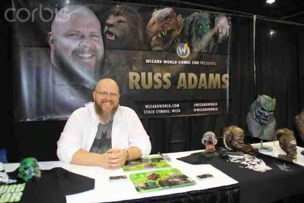 Russ Adams has been all over the country at comic conventions signing autographs. Adams will soon be releasing a book about being on a reality television show. – Escape Design FX