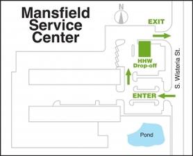 Medium service center hhw map