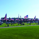 Herriman City Cemetery was adorned with flags for Memorial Day. –Hope Zitting