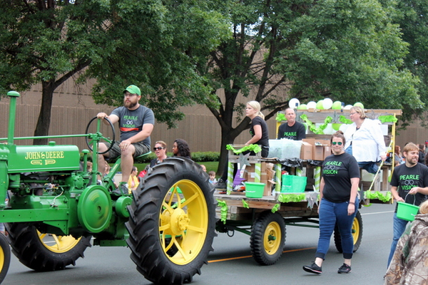 Pearle Vision at the 2016 Maple Grove Days Pierre Bottineau Parade along 89th Avenue Thursday, July 14