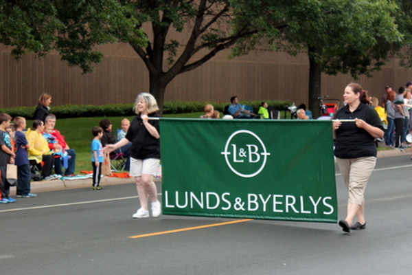 Lynds & Byerly's at the 2016 Maple Grove Days Pierre Bottineau Parade along 89th Avenue Thursday, July 14
