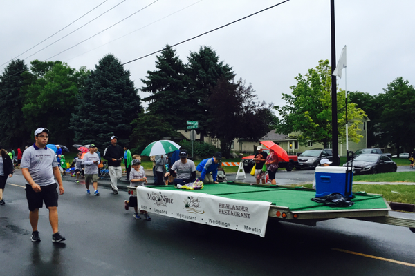 Rush Creek Golf Course at the 2016 Maple Grove Days Pierre Bottineau Parade along 89th Avenue Thursday, July 14